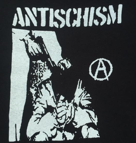 ANTISCHISM - A - Back Patch