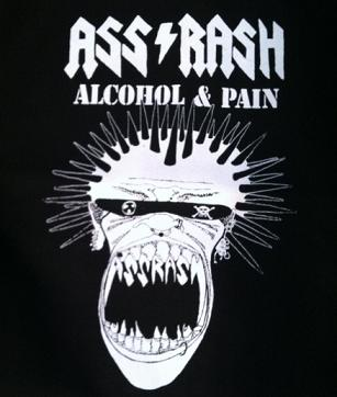 ASSRASH - Alcohol & Pain - Back Patch