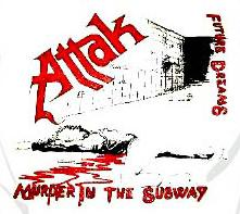 Attak - Murder In The Subway - Shirt