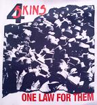 4 SKINS - One Law - Back Patch