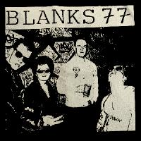 BLANKS 77 - Band - Back Patch