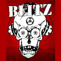 BLITZ - Skull - Back Patch