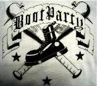 BOOT PARTY - Skinhead - Back Patch