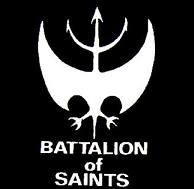 BATTALION OF SAINTS - Logo - Back Patch