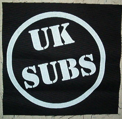 U.K. SUBS - Patch