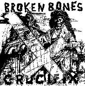 BROKEN BONES - Crucifix - Back Patch
