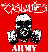 CASUALTIES - Gas Mask - Back Patch