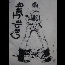CIRCLE JERKS - Pissing - Patch