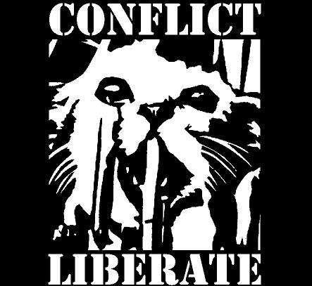 CONFLICT - Liberate - Back Patch