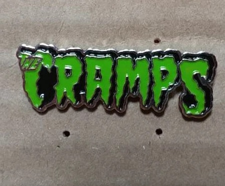 Cramps - Metal Badge