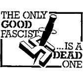 Dead Fascist - Button