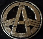Gauze - Logo - Metal Badge