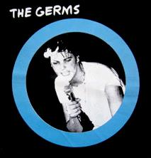 GERMS - Darby - Back Patch