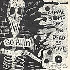 GG ALLIN - Gimme - Patch