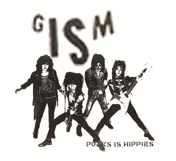 GISM - Punks is Hippies - Button