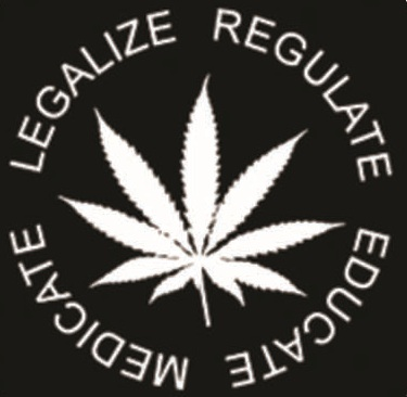 Legalize Regulate - Button