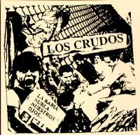Los Crudos - La Rabia - Sticker