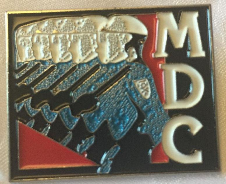 MDC - Cops - Metal Badge