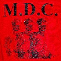 MDC - Skull Cops - Back Patch