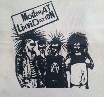 MODERAT LIKVIDATION - Back Patch