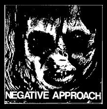 NEGATIVE APPROACH - Exorcist - Back Patch
