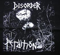 DISORDER - Perdition - Back Patch