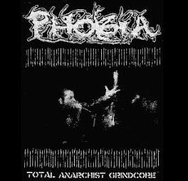 PHOBIA - Total Anarchist Grindcore - Back Patch