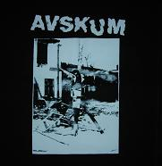 AVSKUM - Crucfix - Back Patch