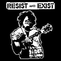 Resist And Exist - Gas Mask - Shirt
