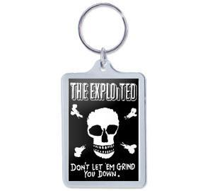Exploited - Key Chain