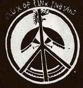 FLUX OF PINK INDIANS - Peace - Patch