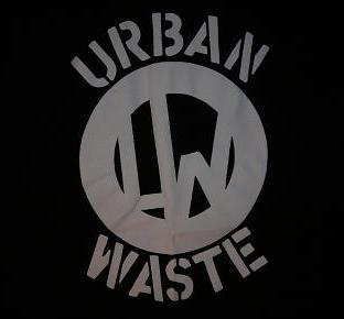 URBAN WASTE - Logo - Back Patch