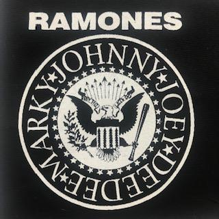 RAMONES - Logo - Patch