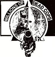 MDC - Klan Cop - Sticker