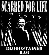 Scarred For Life - Bloodstained Rag - Shirt