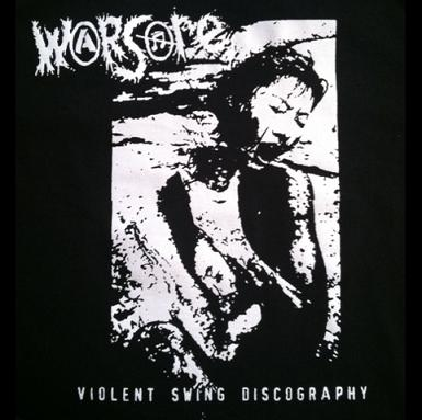 Warsore - Violent Swing Discography - Shirt