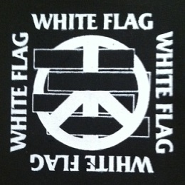 WHITE FLAG - Logo - Patch